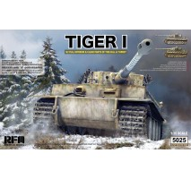 Rye Field Model 5025 -  1:35 Tiger I Witmann full interior - Clear Edition