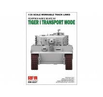 Rye Field Model 5027 - 1:35 Tiger I Transport workable Track links