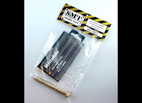 SMT 9021 - Drill bit set + Pin Vise pack