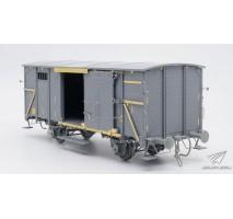 Sabre - 1:35 Gedeckter Güterwagen G10 (6in1) - Coverd G10 Wagon