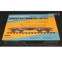 Sabre 35A02 - 1:35 German Railway Schwerer Plattformwagen Type Ssys