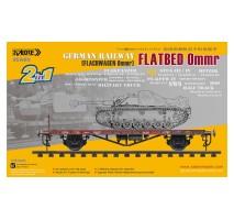 Sabre 35A03 - 1:35 Flachwagen 0mmr - German Railway Flatbed Ommr