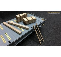 Sabre 35A05 - 1:35 SSyms Schwerer Plattformwagen (Precision Pro Edition)