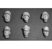 German WWII head set 1 (6 assorted)