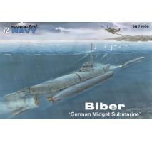 "Special Hobby 72006 - 1:72 Biber ""German Midget Submarine"""