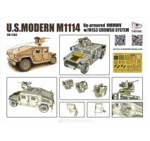 T-Model 7204 - 1:72 M1114 Up-Armored with M153 Crows II system