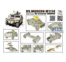 T-Model 7201 - 1:72 US Modern M1114 Up-armored HMMWV