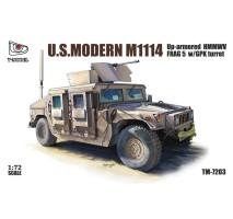 T-Model 7203 - 1:72 U.S. Modern M1114 FRAG 5 w/ GPK Turret