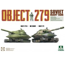 TAKOM 5005 - 1:72 Soviet Heavy Tank Object 279 (dual kit)