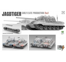 TAKOM 8001 - 1:35 Jagdtiger Early/Late