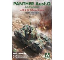 TAKOM 2121 - 1:35 German Panther Ausf. G Late w/IR & air defense (full interior)