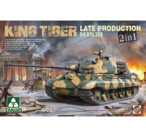 TAKOM 2130 - 1:35 Sd.Kfz.182 King Tiger Late Production 2 in 1