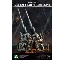 TAKOM 2023 - WWII German 12.8 cm FlaK 40 Zwilling 1:35