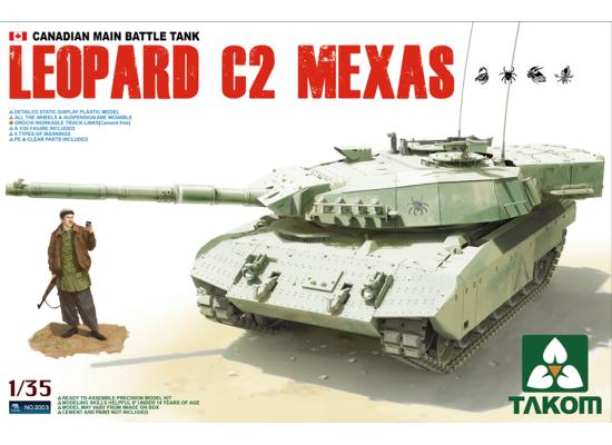 TAKOM 2003 - Canadian MBT Leopard C2 MEXAS 1:35