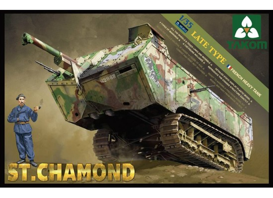 TAKOM 2012 - French HeavyTank St.Chamond Late Type 1:35