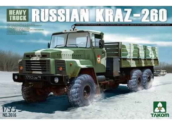 TAKOM 2016 - Russian Truck Kraz 260 1:35