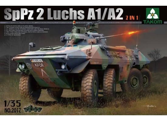 TAKOM 2017 - Bundeswehr SpPz 2 Luchs A1/A2 2 in 1 1:35