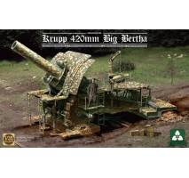 TAKOM 2035 - 1:35 German Empire 420mm Big Bertha Siege Howitzer