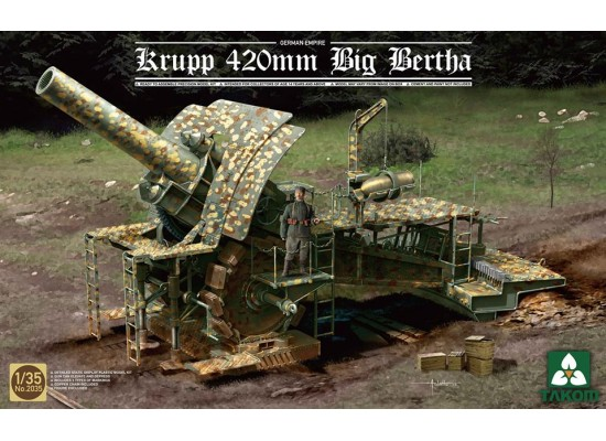 TAKOM 2035 - 1:35 German Empire 420mm Big Bertha Siege Howitzer
