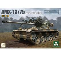 TAKOM 2038 - French Light Tank AMX-13/75 with SS-11 ATGM 2 in 1 1:35