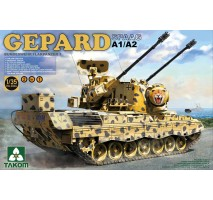TAKOM 2044 - Bundeswehr Flackpanzer1 Gepard SPAAG A1/A2 2 in 1 1:35