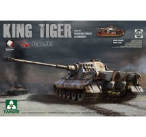 TAKOM 2047S - 1:35 WWII German Heavy Tank Sd.Kfz.182 King Tiger Henschel Turret w/Zimmerit and interior [Pz.Abt.505 special edition]