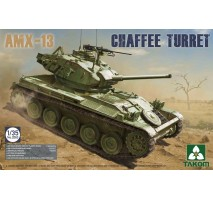 TAKOM 2063 - French Light Tank AMX-13 Chaffe Turret in Algerian War (1954-1962) 1:35