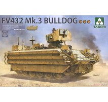 TAKOM 2067 - British APC FV432 Mk.3 Bulldog 2 in 1 1:35