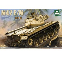 TAKOM 2072 - 1:35 US Medium Tank M47 E:M 2 in 1