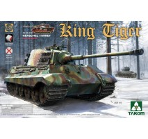 TAKOM 2073S - 1:35 WWII German Heavy Tank Sd.Kfz.182 King Tiger Henschel Turret w/interior [without Zimmerit]