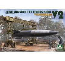 TAKOM 2123 - 1:35 Stratenwerth 16t Strabokran 44/45 + V2 + Vidalwagen