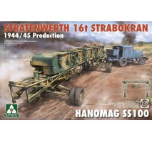 TAKOM 2124 - 1:35 Stratenwerth 16t Strabokran 1944/45 + Hanomag SS100