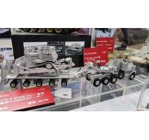 TAKOM 5002 - 1:72 U.S. M1070&M1000 w/D9R 70 Ton Tank Transporter w/Bulldozer