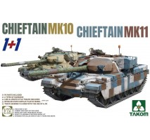 TAKOM 5006 - 1:72 Chieftain MK10 and Chieftain MK11 (dual kit)