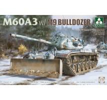 TAKOM 2137 - 1:35 US Main Battle Tank M60A3 W/M9 Bulldozer