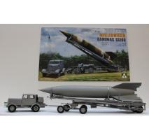 TAKOM 2030 - 1:35 WWII German V-2 Rocket Transporter/Erector Meillerwagen+Hanomag SS100