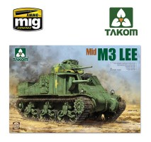 TAKOM 2089 - US MEDIUM TANK M3 LEE MID 1:35