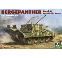TAKOM 2101 - 1:35 Bergepanther Ausf.A Assembled by Demag production w/ full interior kit