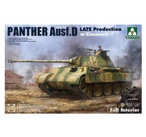 TAKOM 2104 - 1:35 WWII German medium Tank Sd.Kfz.171 Panther Ausf.D  Late production w/ Zimmerit/ full interior kit