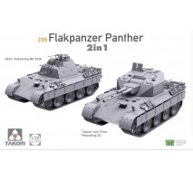 "TAKOM 2105 - 1:35 Flakpanzer Panther ""Coelian"" with 37mm Flakzwilling 341 & 20mm flakvierling mg151/20 2 in 1"