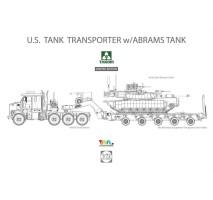 TAKOM 5002x - 1:72 U.S. M1070 Tank Transporter w/Abrams - limited edition