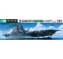 Tamiya 31713 - 1:700 U.S. Navy Aircraft Carrier CV-3 Saratoga 1944-1945