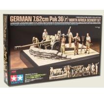 Tamiya 32408 - 1:35 German 7.62cm Pak 36(r) - diorama set