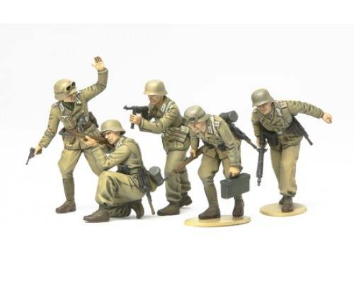 TAMIYA 35314 - 1:35 German Africa Korps Infantry
