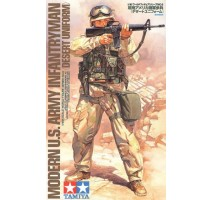 Tamiya 36308 - 1:16 Modern US Infantryman - Desert Uniform