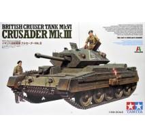 TAMIYA 37025 - 1:35 Cruiser Tank Mk. IV Crusader Mk. III