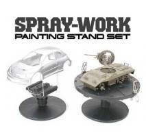 TAMIYA 74522 - Spray-Work Painting Stand Set