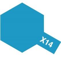 TAMIYA 81014 - X-14 Sky Blue - Acrylic Paint (Gloss) 23 ml