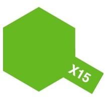 TAMIYA 81015 - X-15 Light Green - Acrylic Paint (Gloss) 23 ml