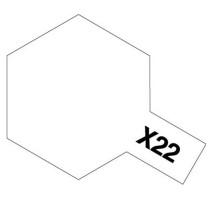 TAMIYA 81022 - X-22 Clear - Acrylic Paint (Clear) 23 ml